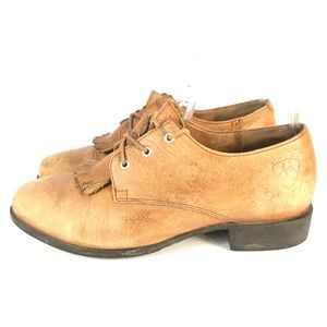 Ariat heavy duty leather shoes